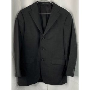 J press Parker wool blazer 40r black
